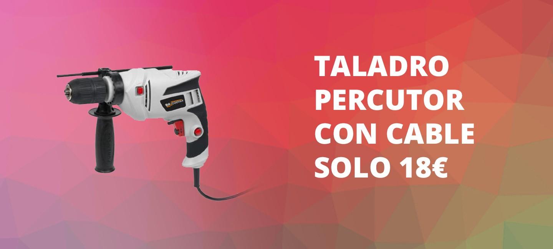 Taladro Con Percutor 600 W POWC10200