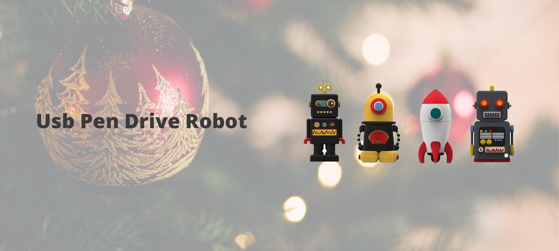 Usb Pen Drive Robot 8 GB
